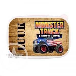 Broodtrommel *monster truck*