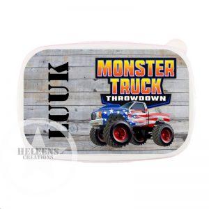 Broodtrommel monster truck