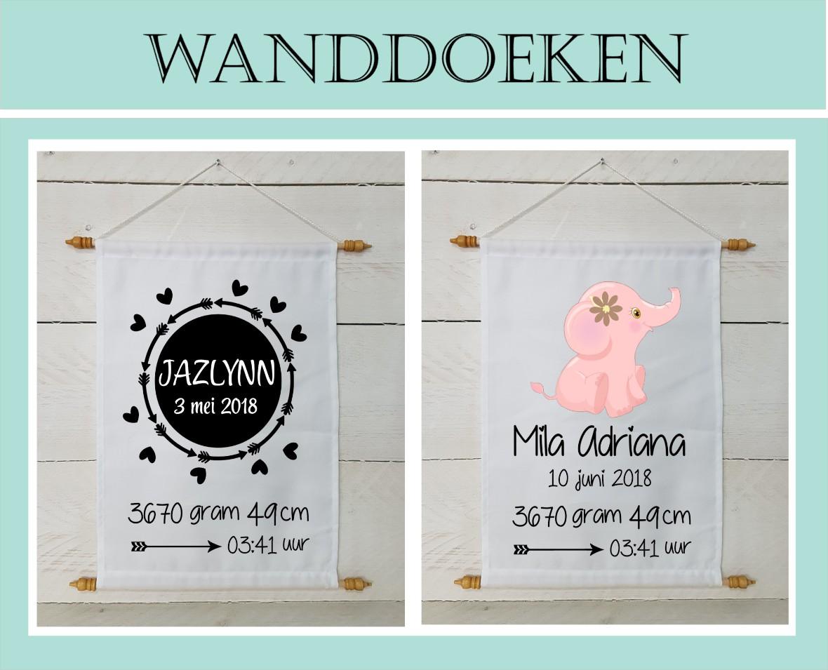 Wanddoek kinderkamer