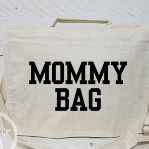 Stoere tas met mommy bag