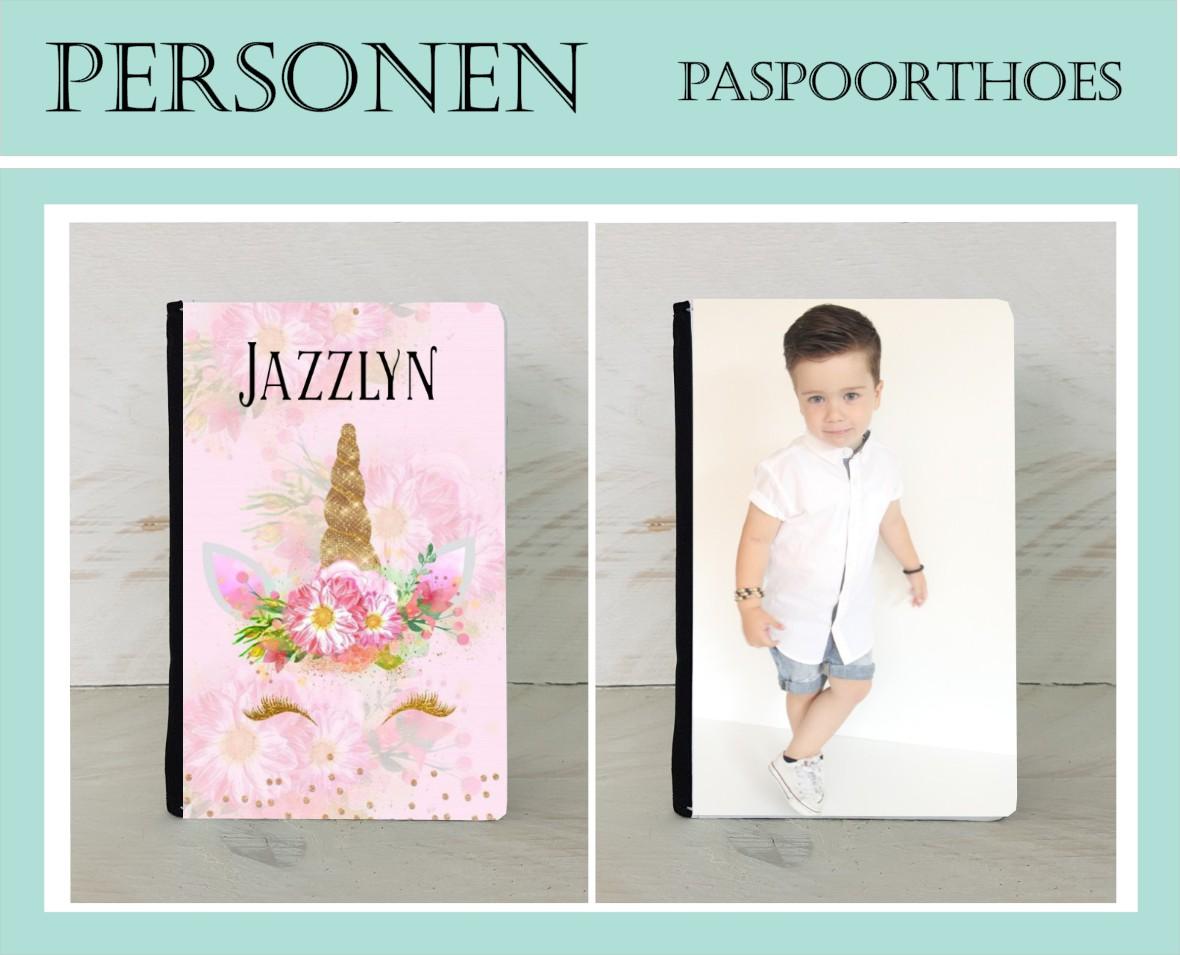 Gepersonaliseerde paspoorthoezen