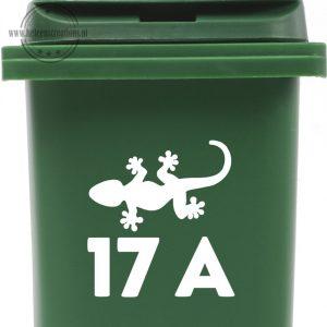 Kliko sticker met salamander