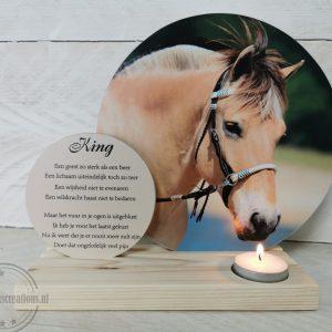 Herinnering van jouw paard