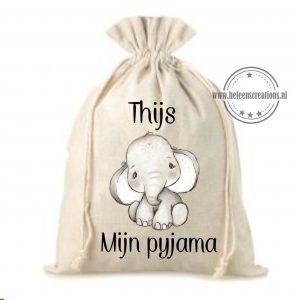 Pyjamazak jungle olifant jongen