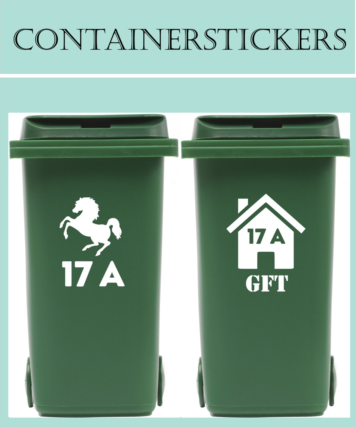 Container stickers
