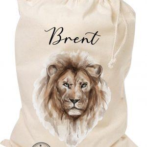 Opbergzak safari naam leeuw