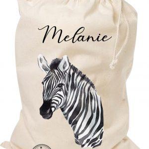 Opbergzak safari zebra
